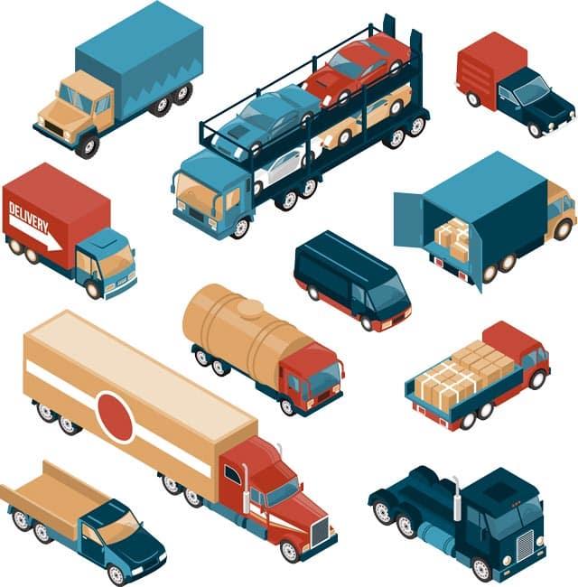 isometria de gps para vehiculos